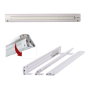 12VDC Adjustable Linear LED Light with Push Button Switch