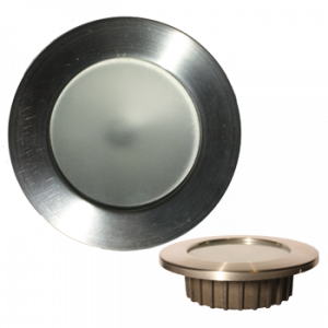 """""""ZERO EMI"""" Recessed 3.5"""" LED Light with Stainless Trim"""
