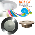 """Full Color 3.5"""" IP65 Recessed Light with Stainless Trim"""