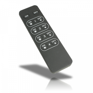 Professional FCC RF Dimmer - 4 Zone Portable