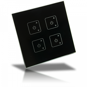 Professional FCC RF Dimmer - 4 Zone Wall Mount