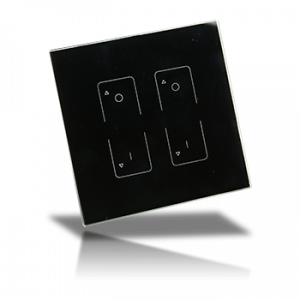 Professional FCC RF Dimmer - 2 Zone Wall Mount