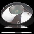 "Surface Mount 6.75"" Smooth Chrome COB LED Light"