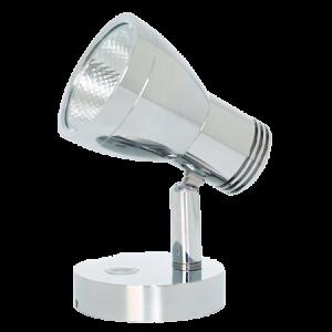 Elegant Wall Mount LED Light 33GW Chrome