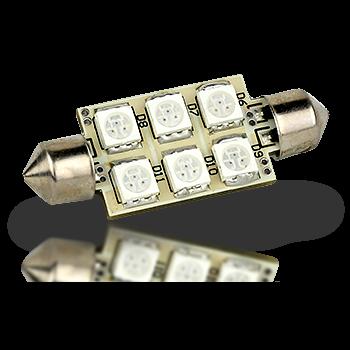 Lunasea Pointed Festoon 9 LED Light Bulb