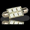 Pointed Festoon 6 LED Light Bulb - 42mm