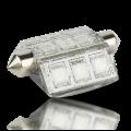 Pointed Festoon 9 LED Navigation Light Bulb - 42mm