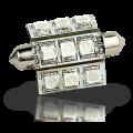 Pointed Festoon 9 LED Light Bulb - 42mm
