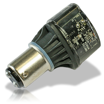 Single Color BA-15D Navigation LED Light Bulb - Lunasea Lighting