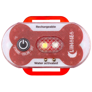 LunaSafe Water Safety Device Red w/ Transmitter