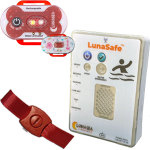 LunaSafe Water Safety Device Red w/ Transmitter & Alarm