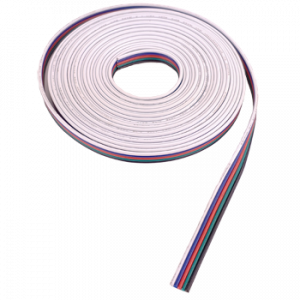 5 Conductor 18 AWG Ribbon Cable